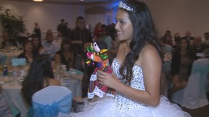 quinceanera reception