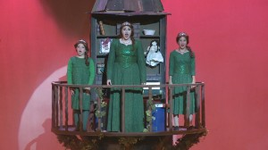 Three Fionas from Shrek The Musical