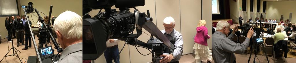 Marc with camera crane